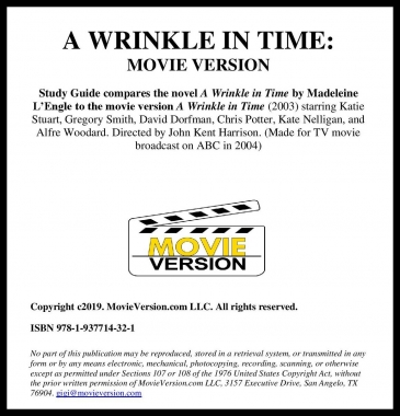 A Wrinkle in Time: Movie Version 2