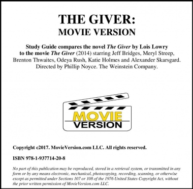 The Giver: Movie Version 2