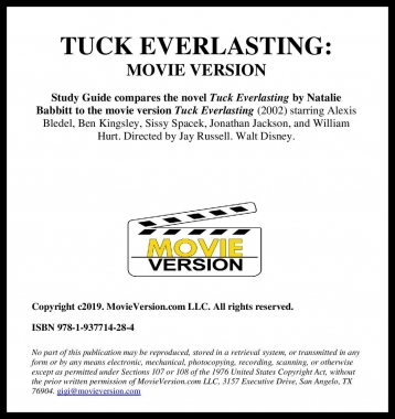 Tuck Everlasting: Movie Version 2