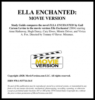 ELLA ENCHANTED MV Title Page
